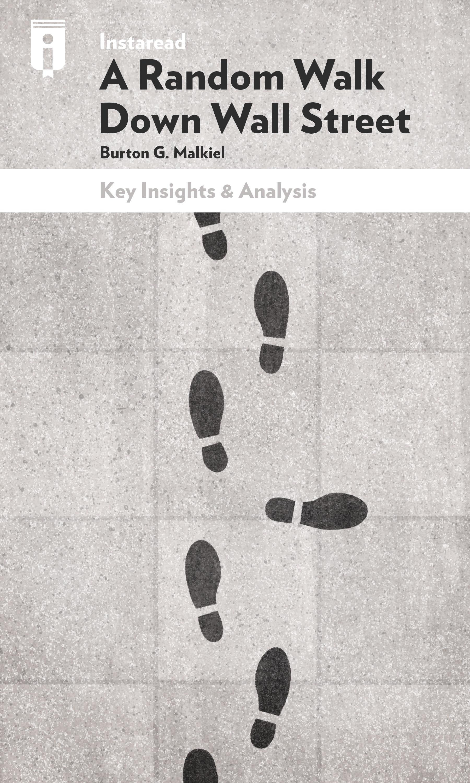 """Book Cover for """"A Random Walk Down Wall Street"""""""