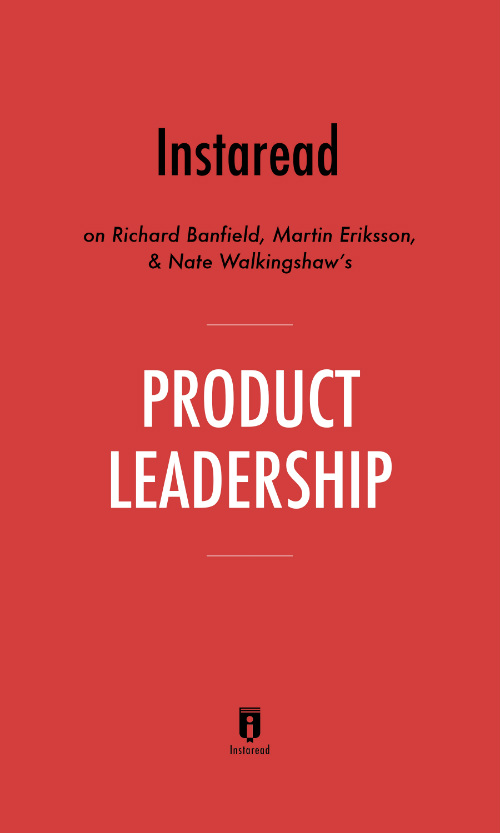 "Book Cover for ""Product Leadership"""