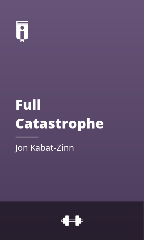 "Book Cover for ""Full Catastrophe Living"""