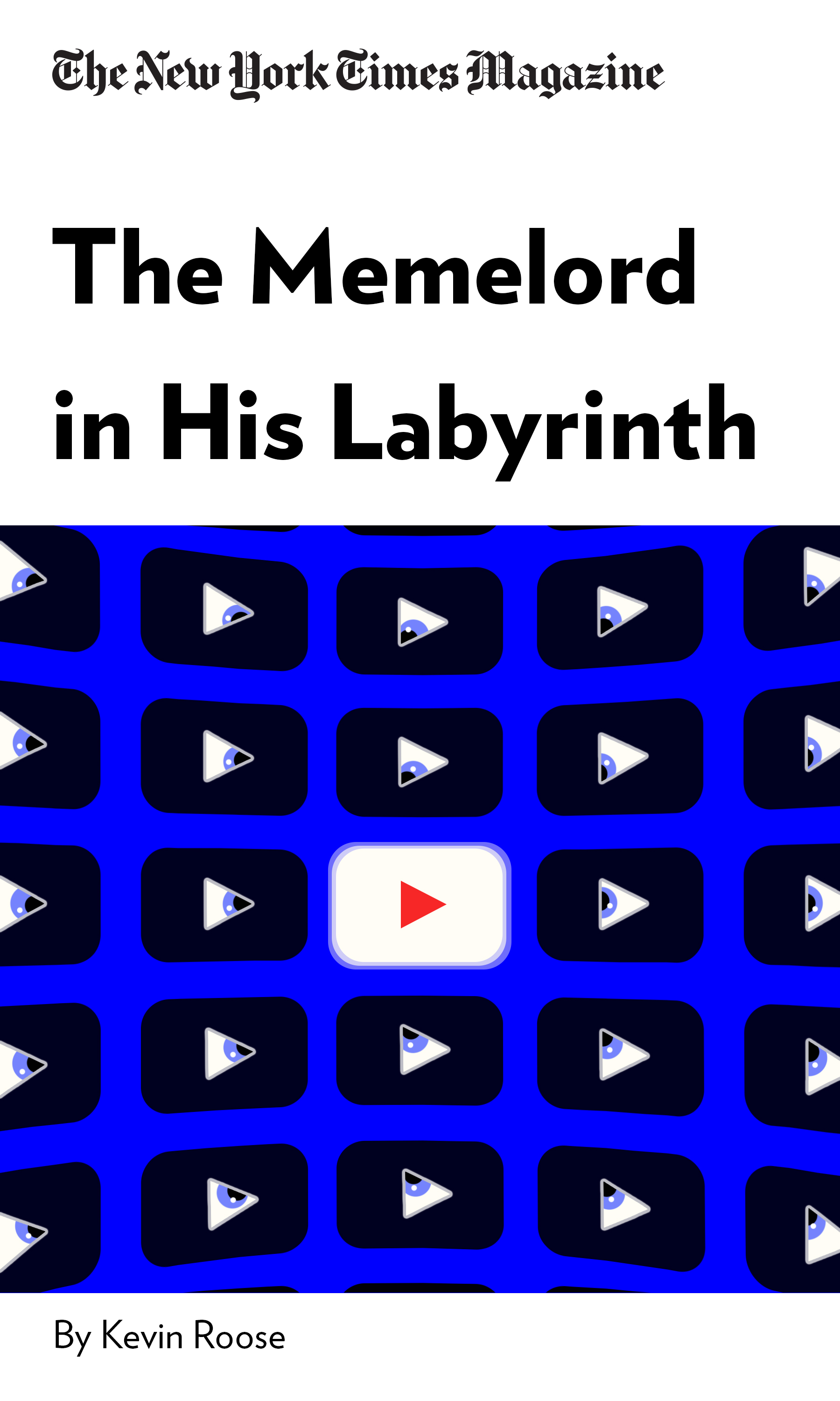 """Book Cover for """"The Memelord in His Labyrinth"""""""