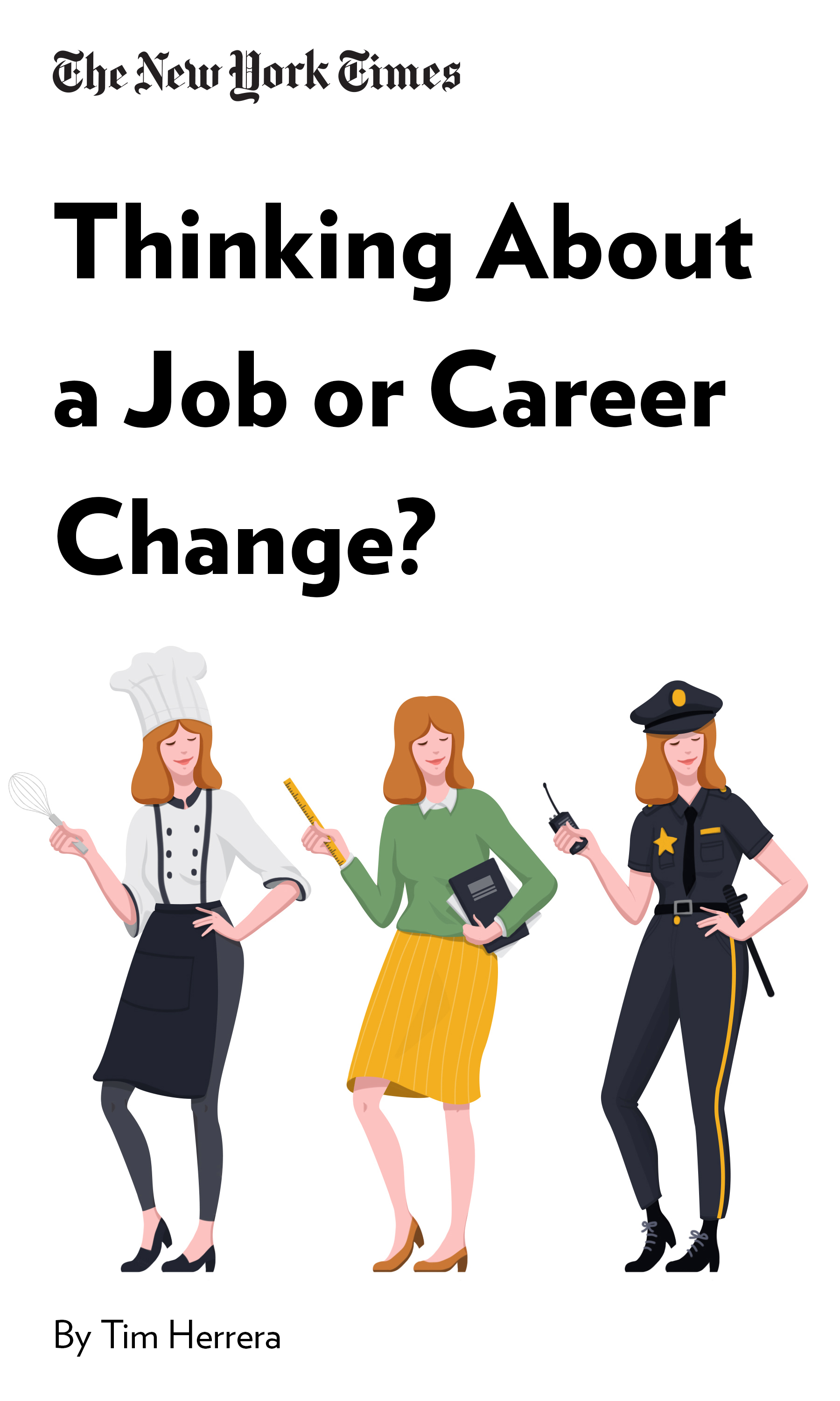 """Book Cover for """"Thinking About a Job or Career Change? Read This"""""""