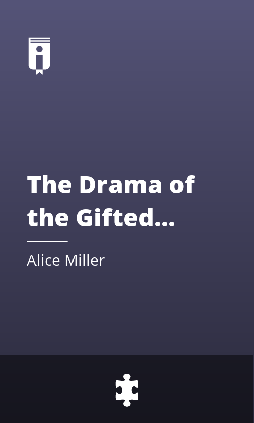 """Book Cover for """"The Drama of the Gifted Child"""""""