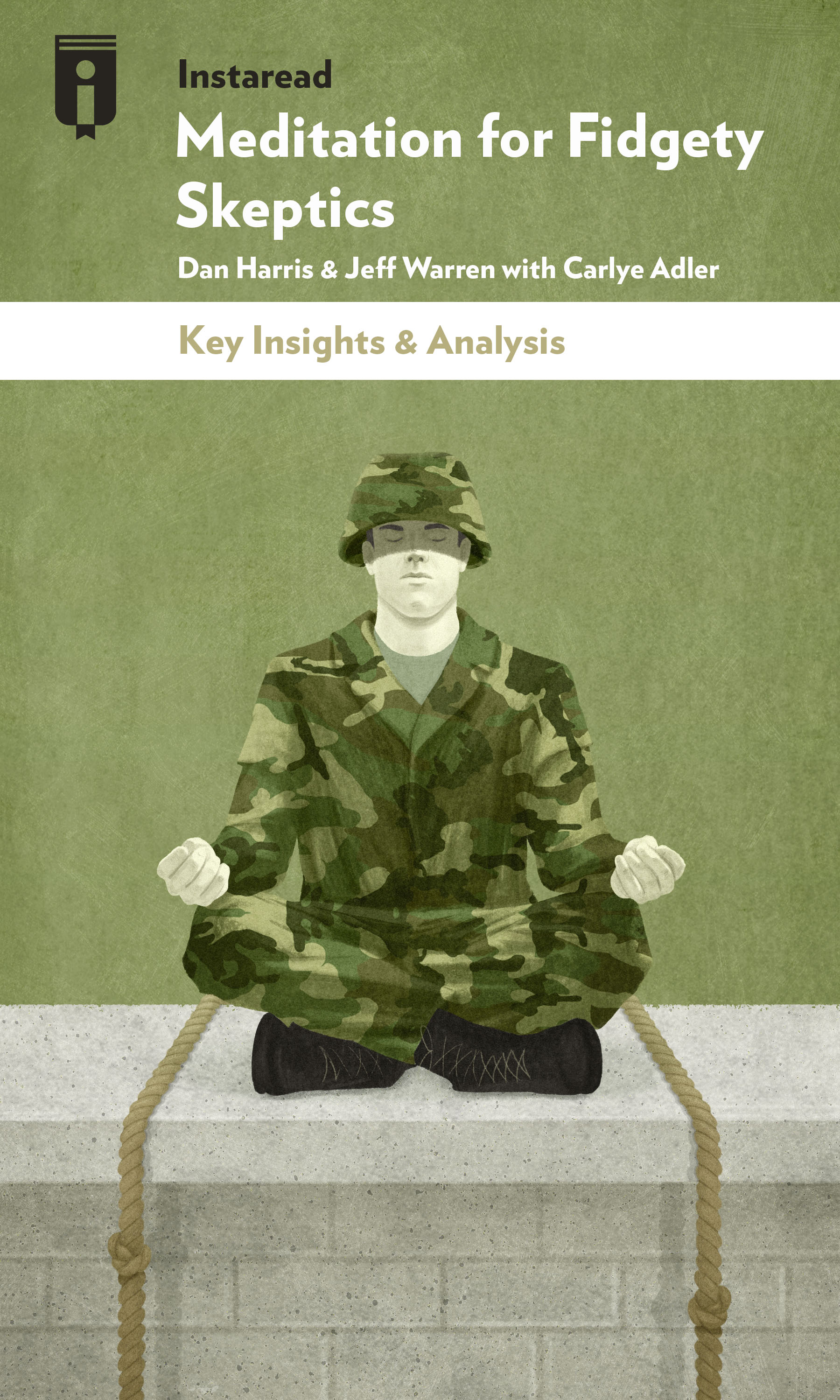 "Book Cover for ""Meditation for Fidgety Skeptics"""