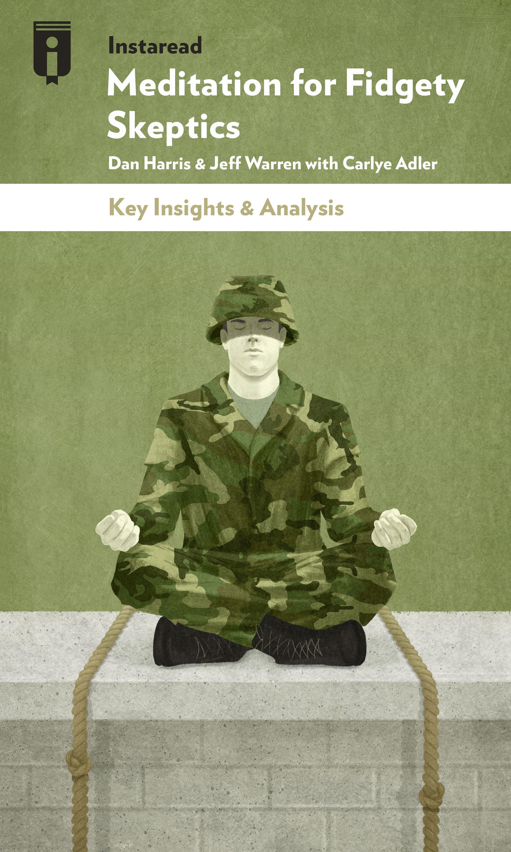 "Book Cover for ""Meditation for Fidgety Skeptics"""