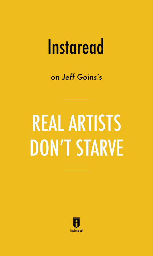 "Book Cover for ""Real Artists Don't Starve"""