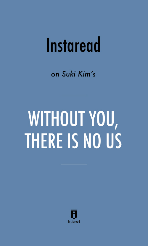 "Book Cover for ""Without You, There Is No Us"""