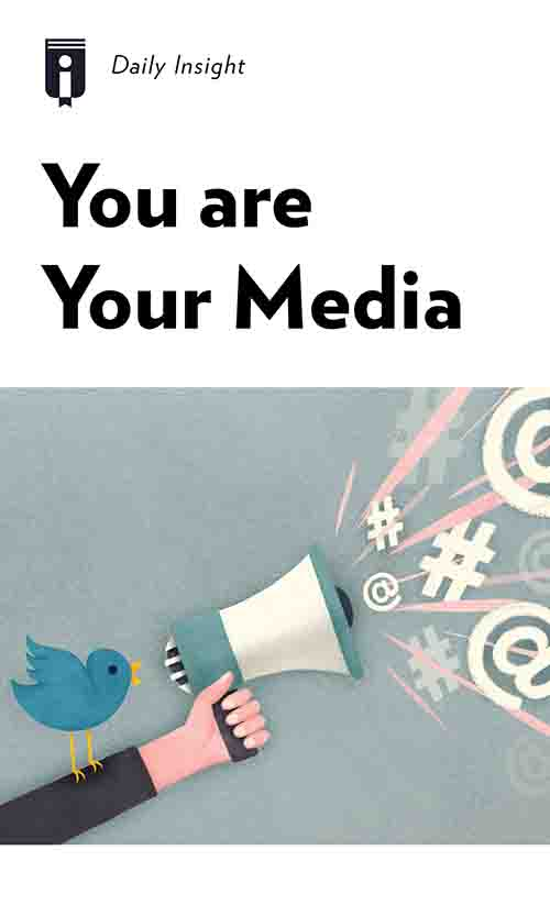 "Book Cover for ""You are Your Media"""