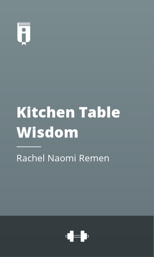 """Book Cover for """"Kitchen Table Wisdom"""""""