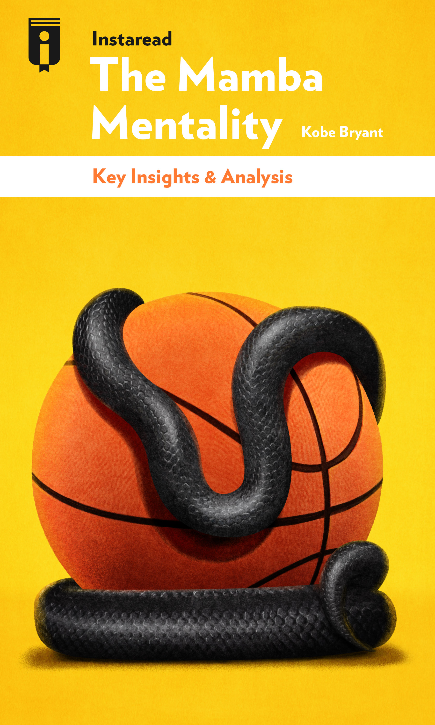 """Book Cover for """"The Mamba Mentality"""""""