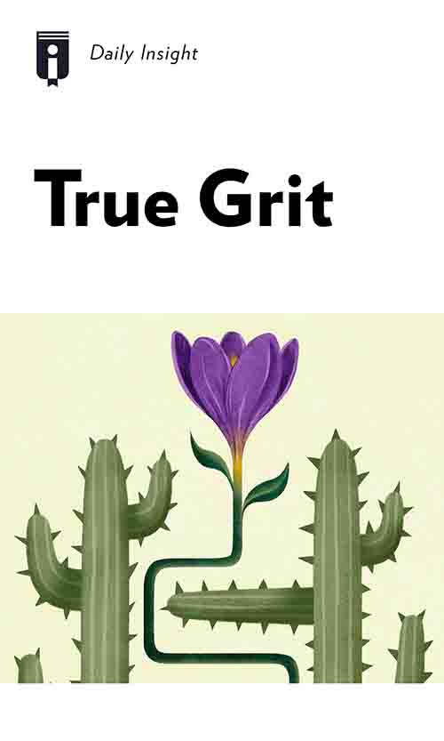 "Book Cover for ""True Grit"""