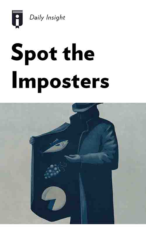 "Book Cover for ""Spot the Imposters"""
