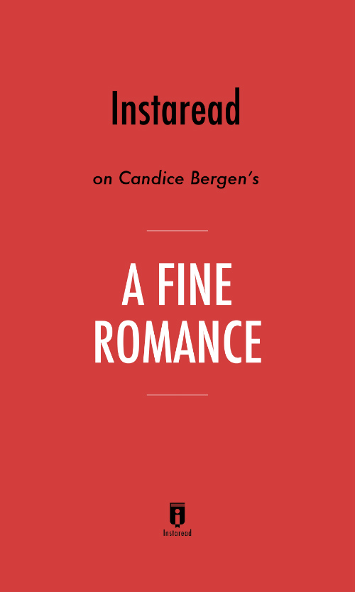 "Book Cover for ""A Fine Romance"""