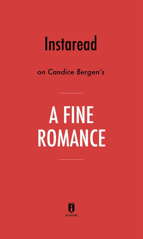 """Book Cover for """"A Fine Romance"""""""