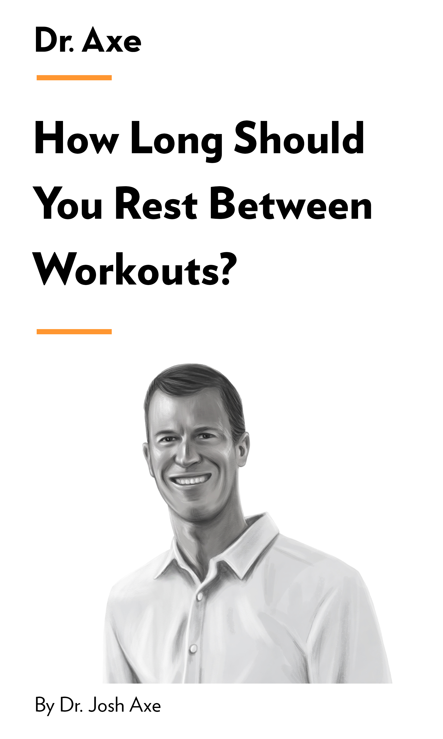 """Book Cover for """"How Long Should You Rest Between Workouts?"""""""