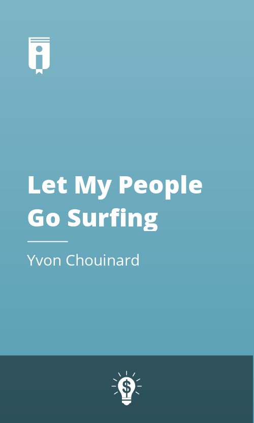 """Book Cover for """"Let My People Go Surfing"""""""