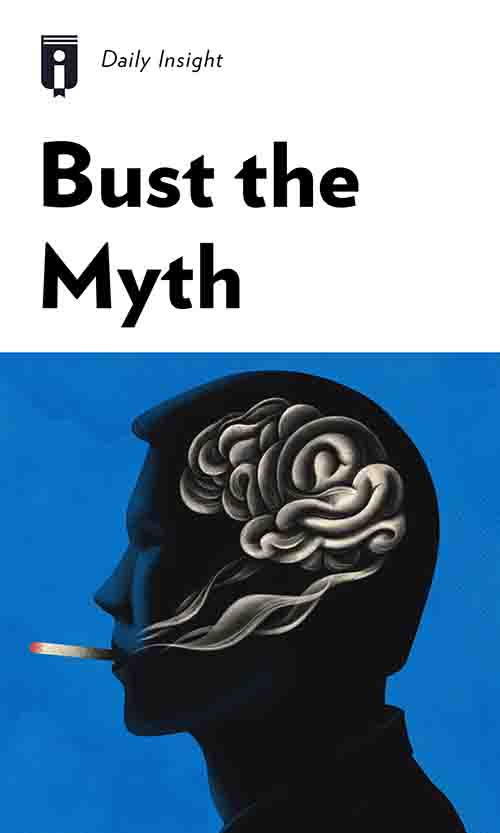 "Book Cover for ""Bust the Myth"""