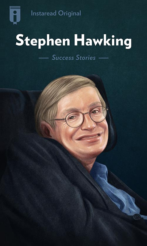 "Book Cover for ""Stephen Hawking"""