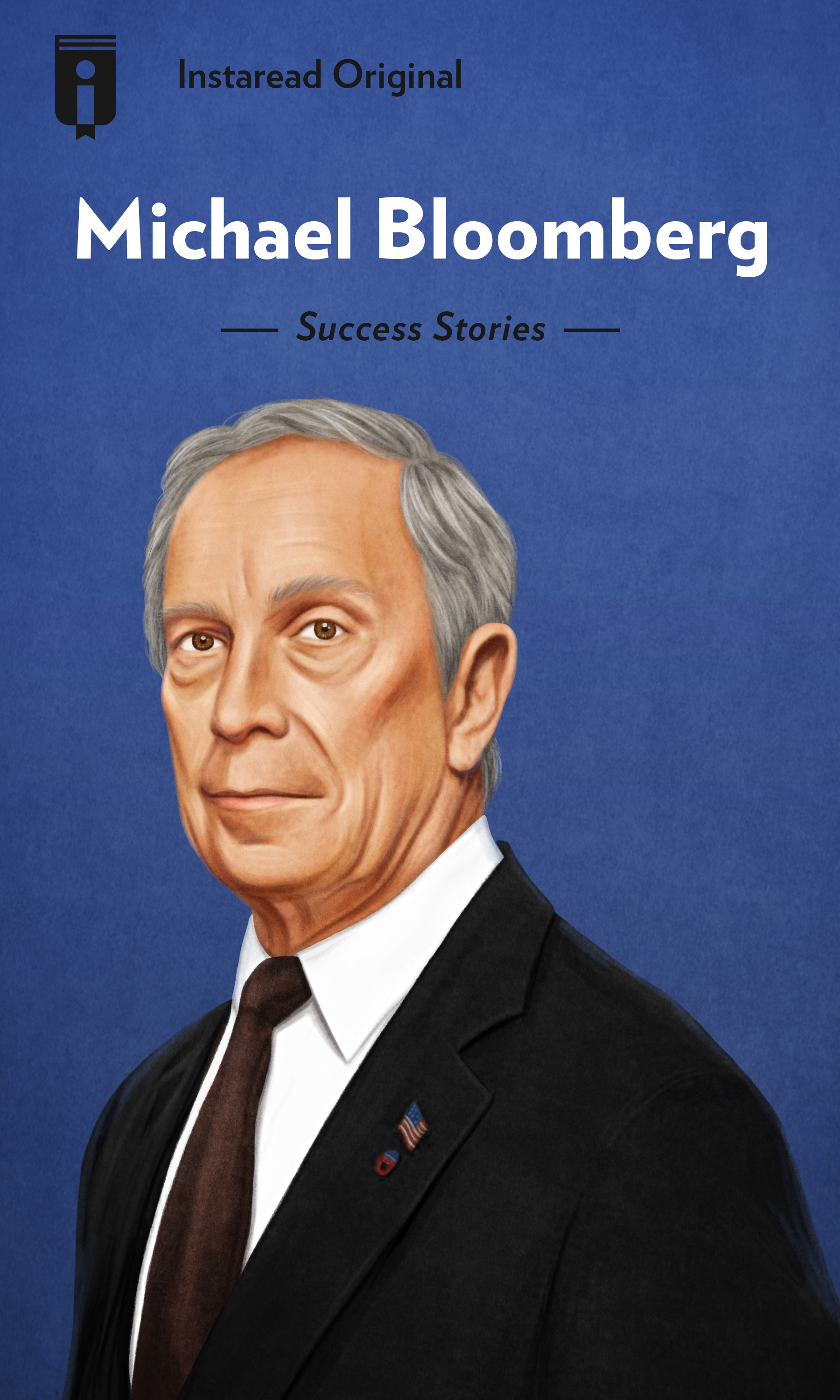 "Book Cover for ""Michael Bloomberg"""