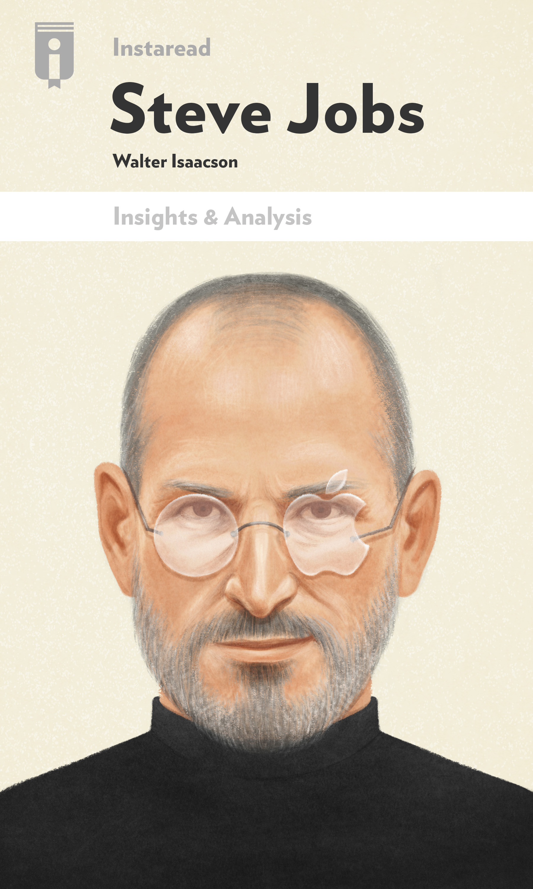 "Book Cover for ""Steve Jobs"""
