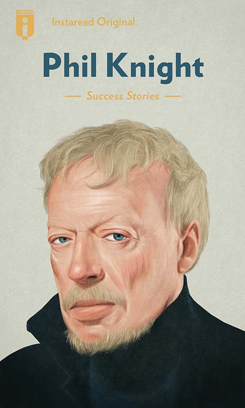 "Book Cover for ""Phil Knight"""