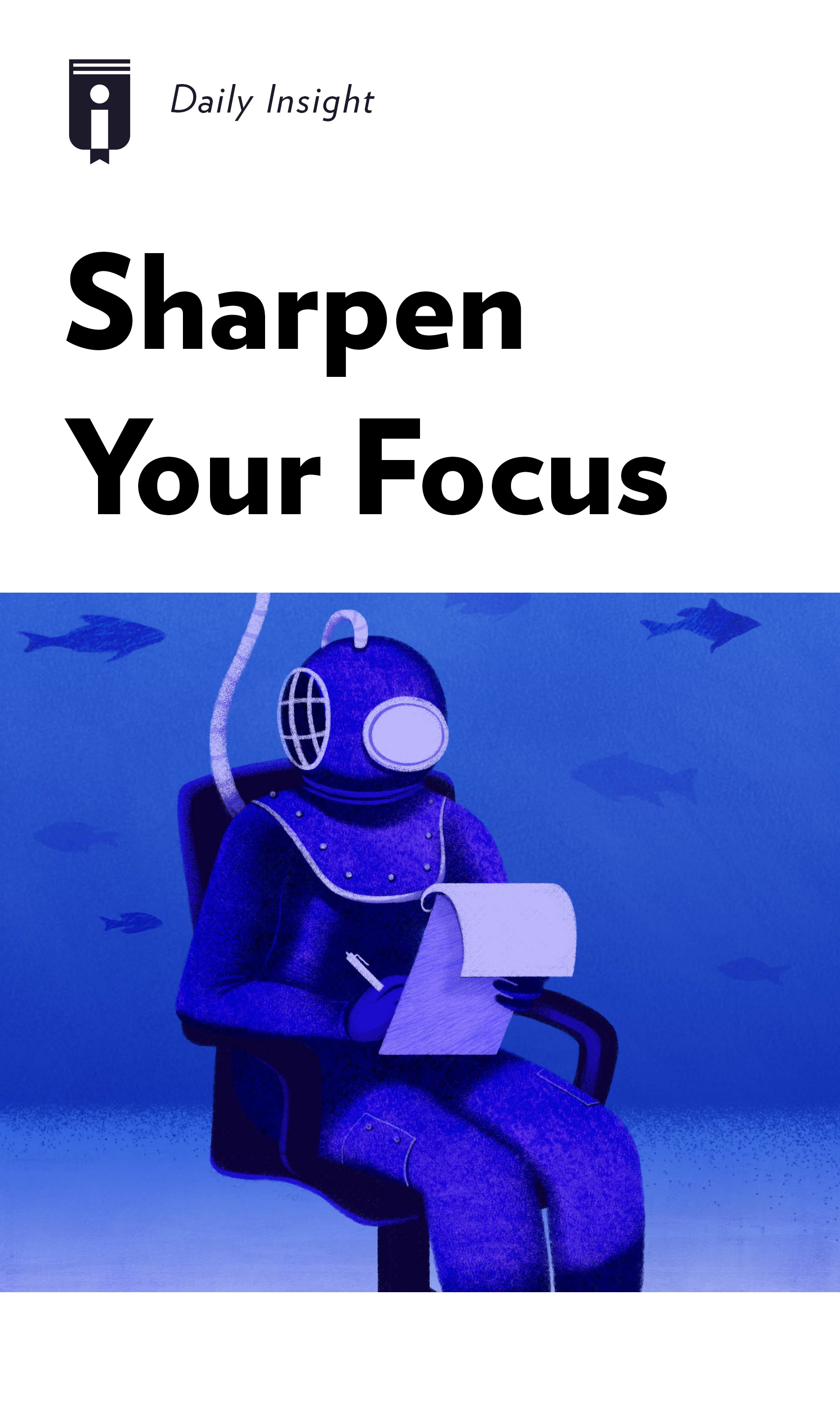 "Book Cover for ""Sharpen Your Focus"""