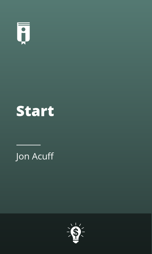 """Book Cover for """"Start"""""""