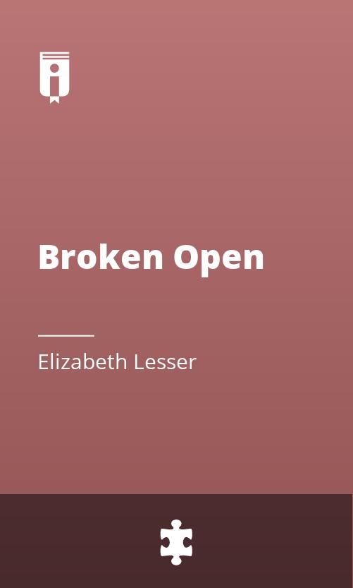 "Book Cover for ""Broken Open"""