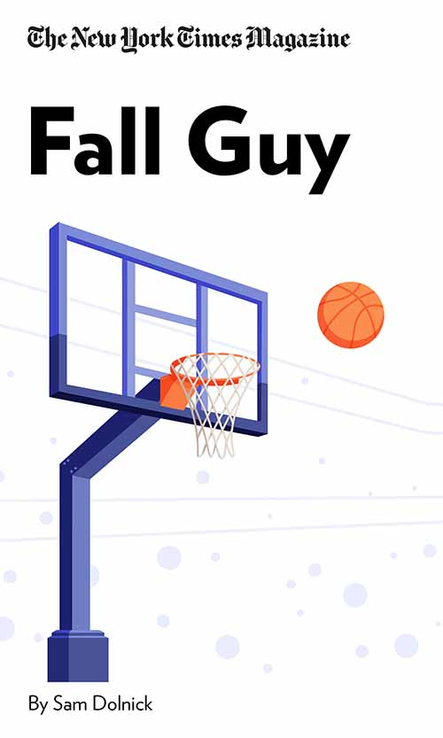 "Book Cover for ""Fall Guy"""