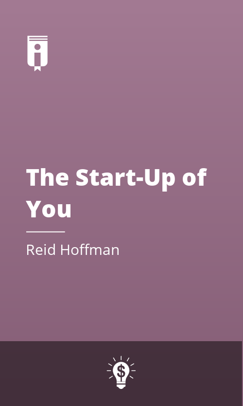 """Book Cover for """"The Start-Up of You"""""""