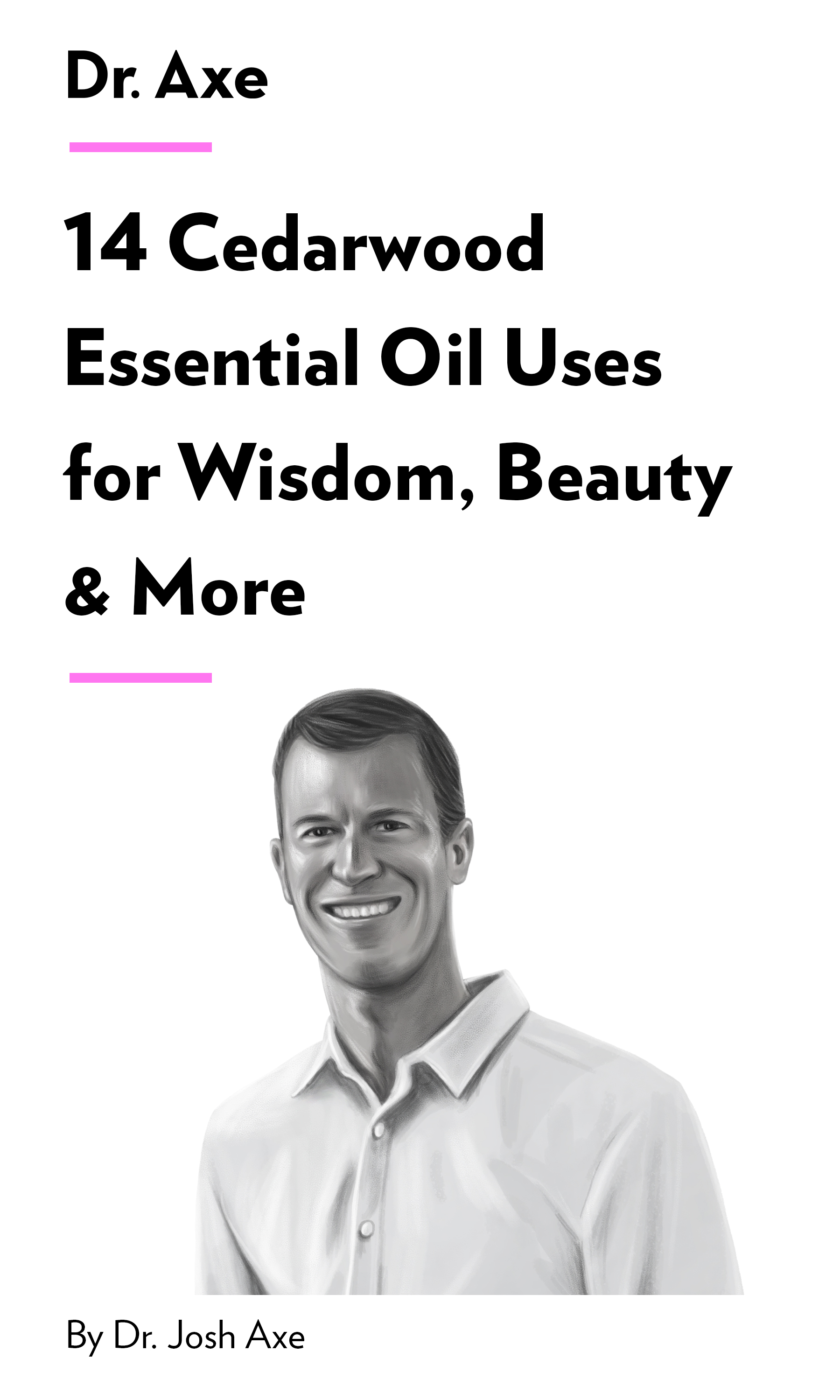 """Book Cover for """"14 Cedarwood Essential Oil Uses for Wisdom, Beauty & More"""""""