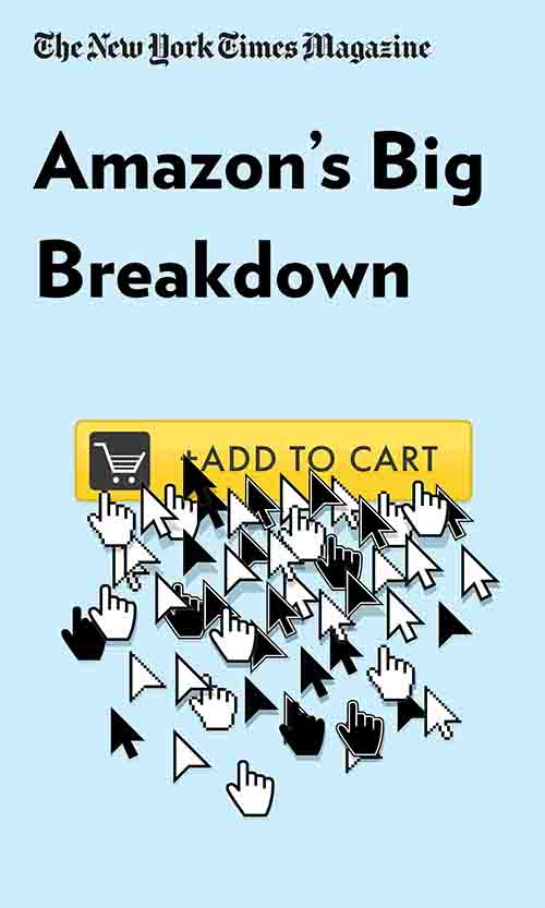 "Book Cover for ""Amazon's Big Breakdown"""