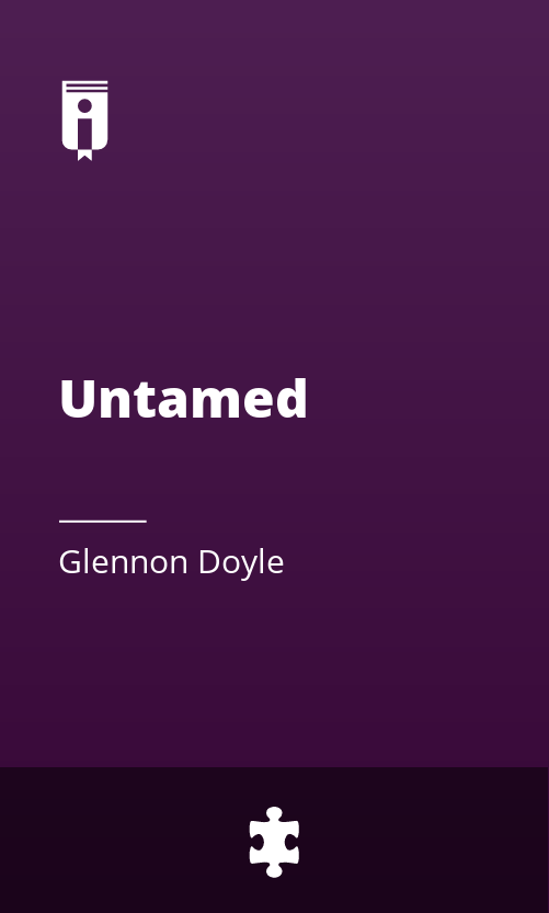 """Book Cover for """"Untamed"""""""