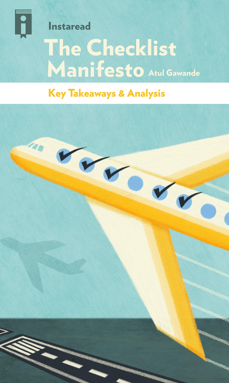 """Book Cover for """"The Checklist Manifesto"""""""