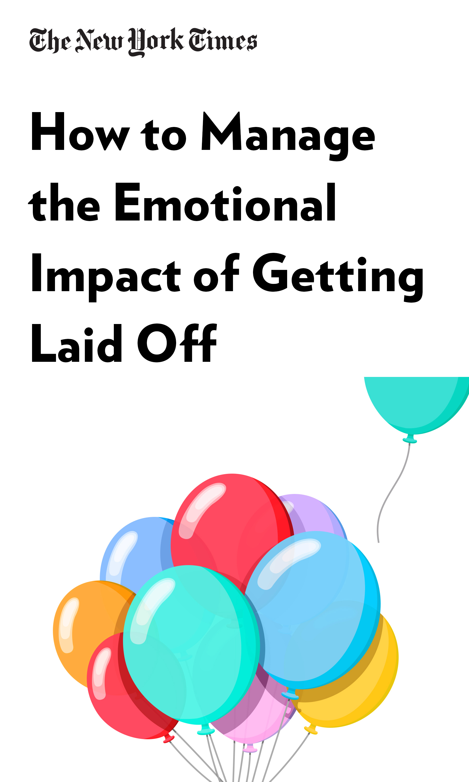 """Book Cover for """"How to Manage the Emotional Impact of Getting Laid Off"""""""