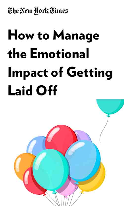 "Book Cover for ""How to Manage the Emotional Impact of Getting Laid Off"""