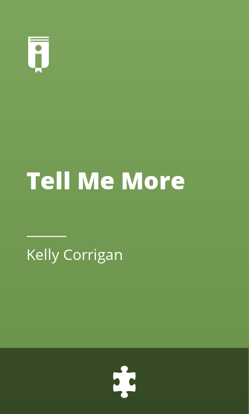"""Book Cover for """"Tell Me More"""""""
