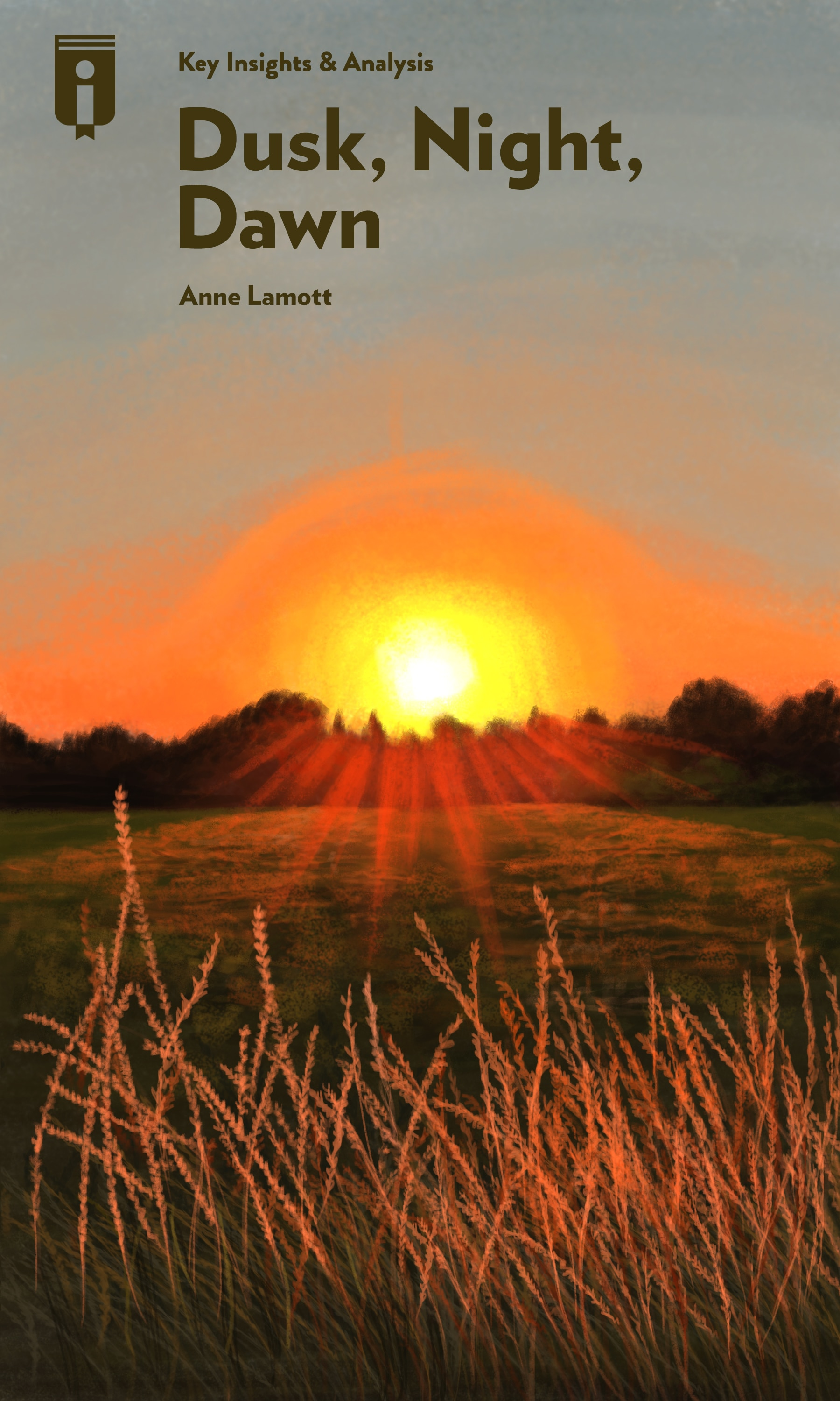 """Book Cover for """"Dusk, Night, Dawn"""""""