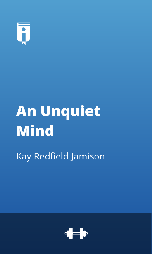 """Book Cover for """"An Unquiet Mind"""""""