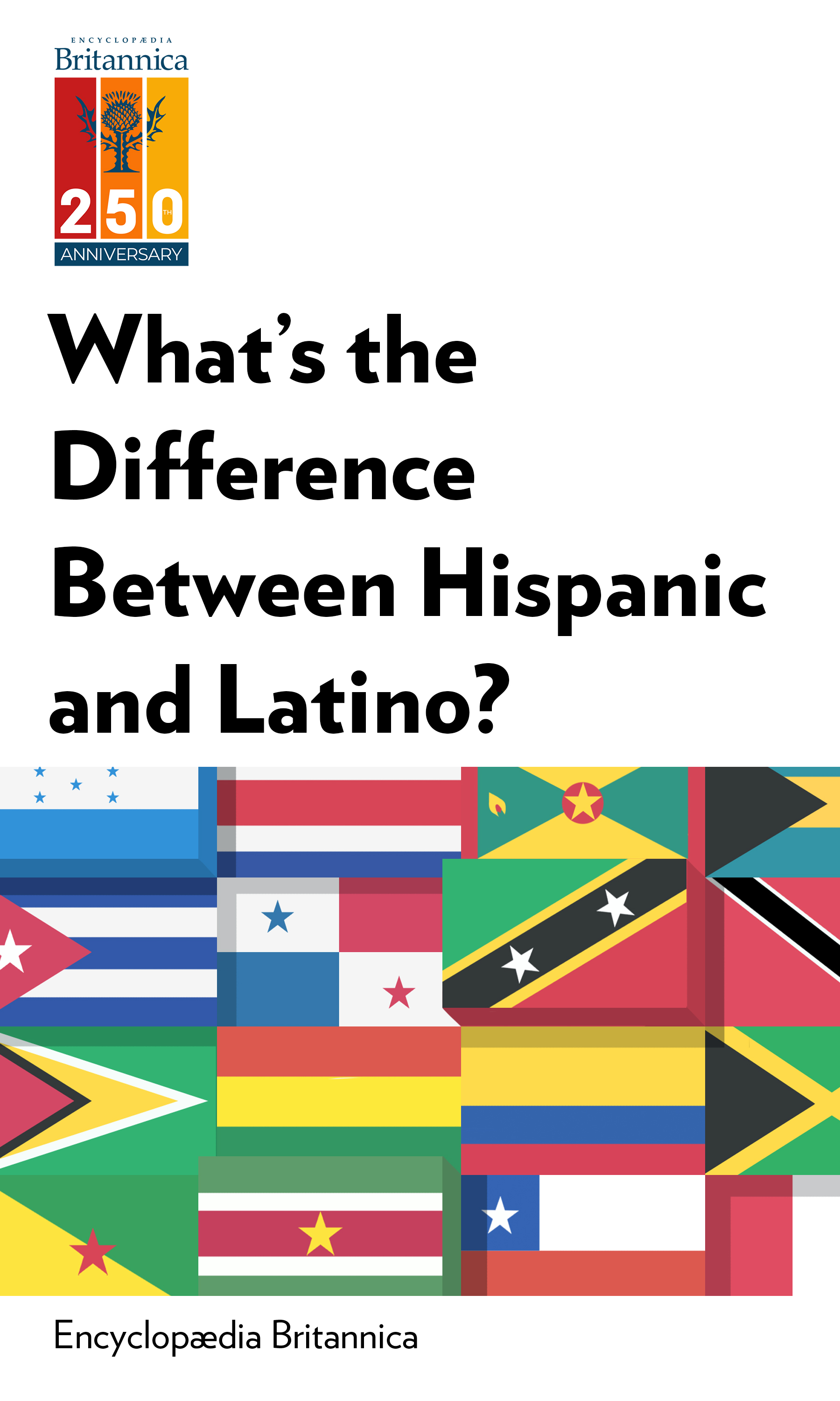 """Book Cover for """"What's the Difference Between Hispanic and Latino?"""""""
