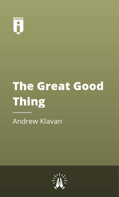 """Book Cover for """"The Great Good Thing"""""""